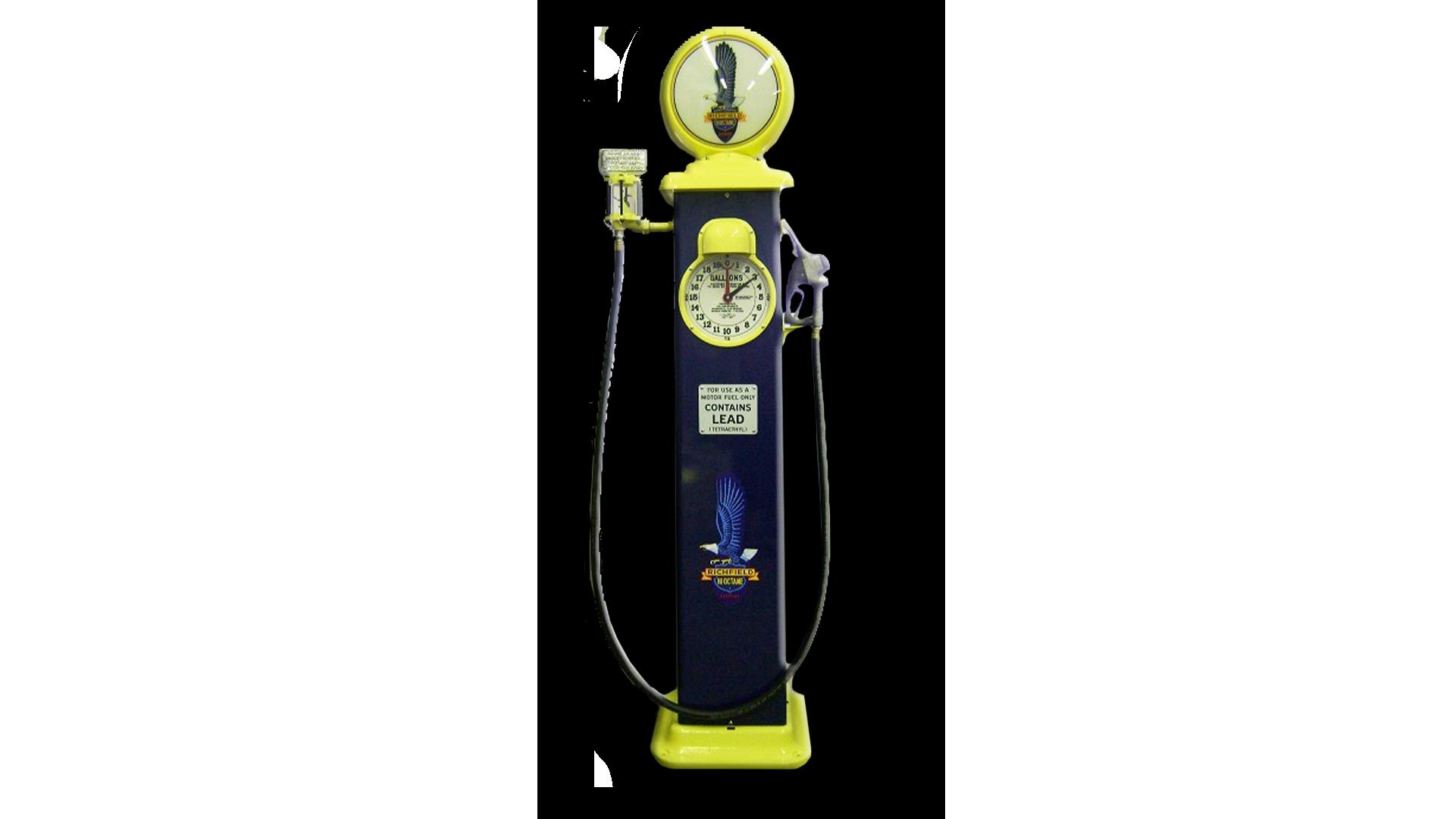 Richfield 1929 Clock Face Reproduction Gas Pump